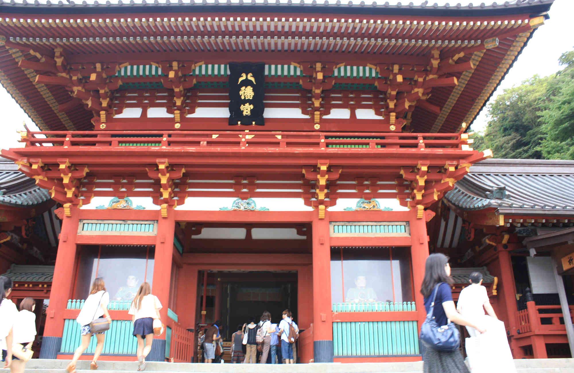 鶴岡八幡宮の楼門