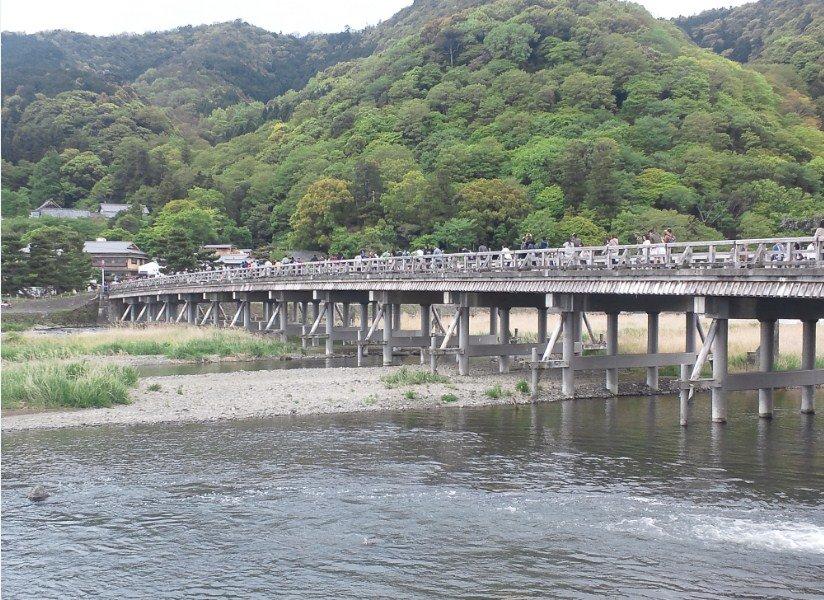 京都嵐山「渡月橋」