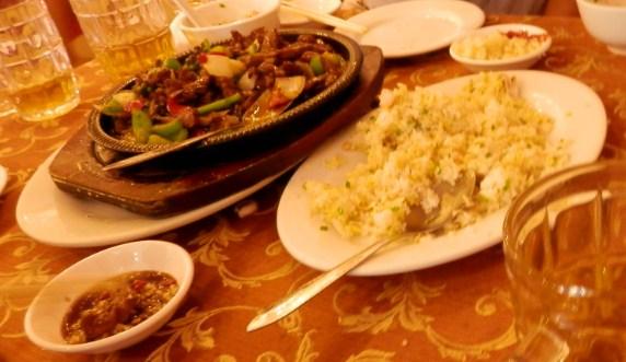 カンボジア1日目の昼食