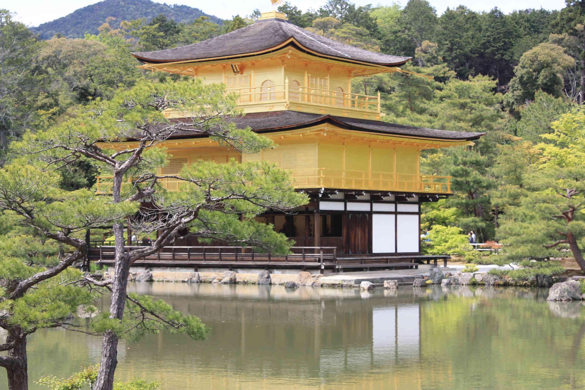 京都「鹿苑寺金閣時」