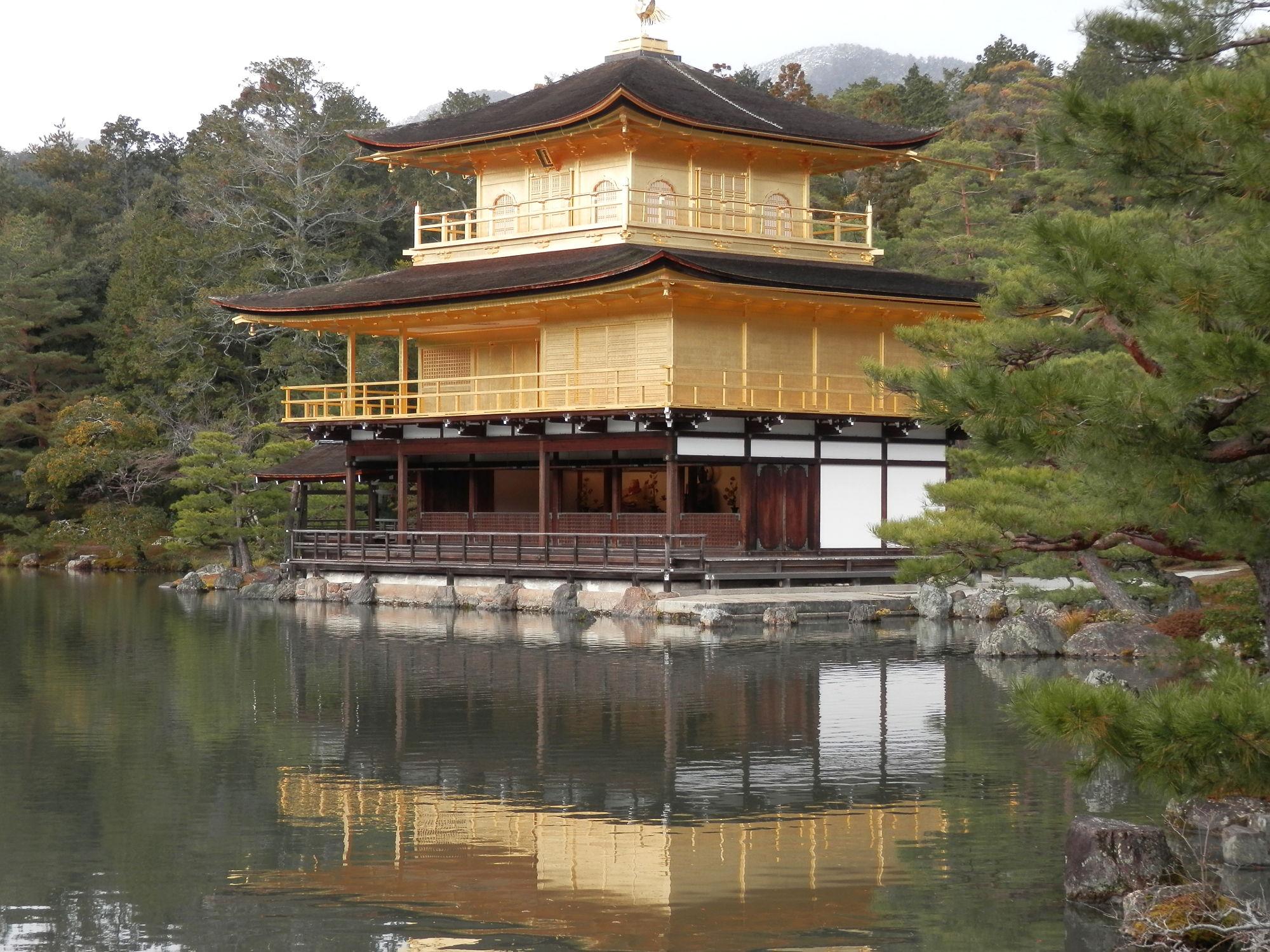 京都巡り:鹿苑寺 金閣時