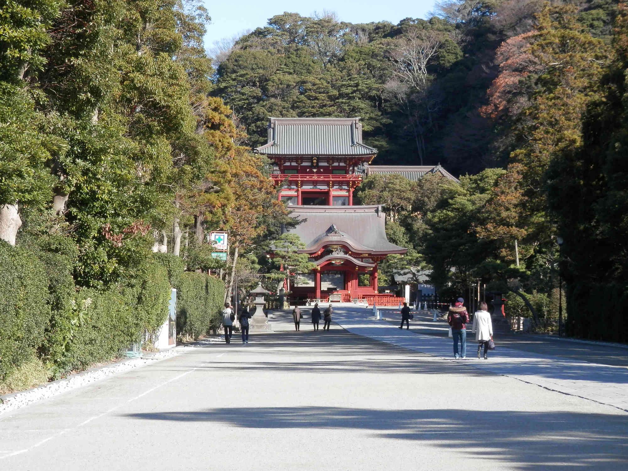 鎌倉「鶴岡八幡宮」参道