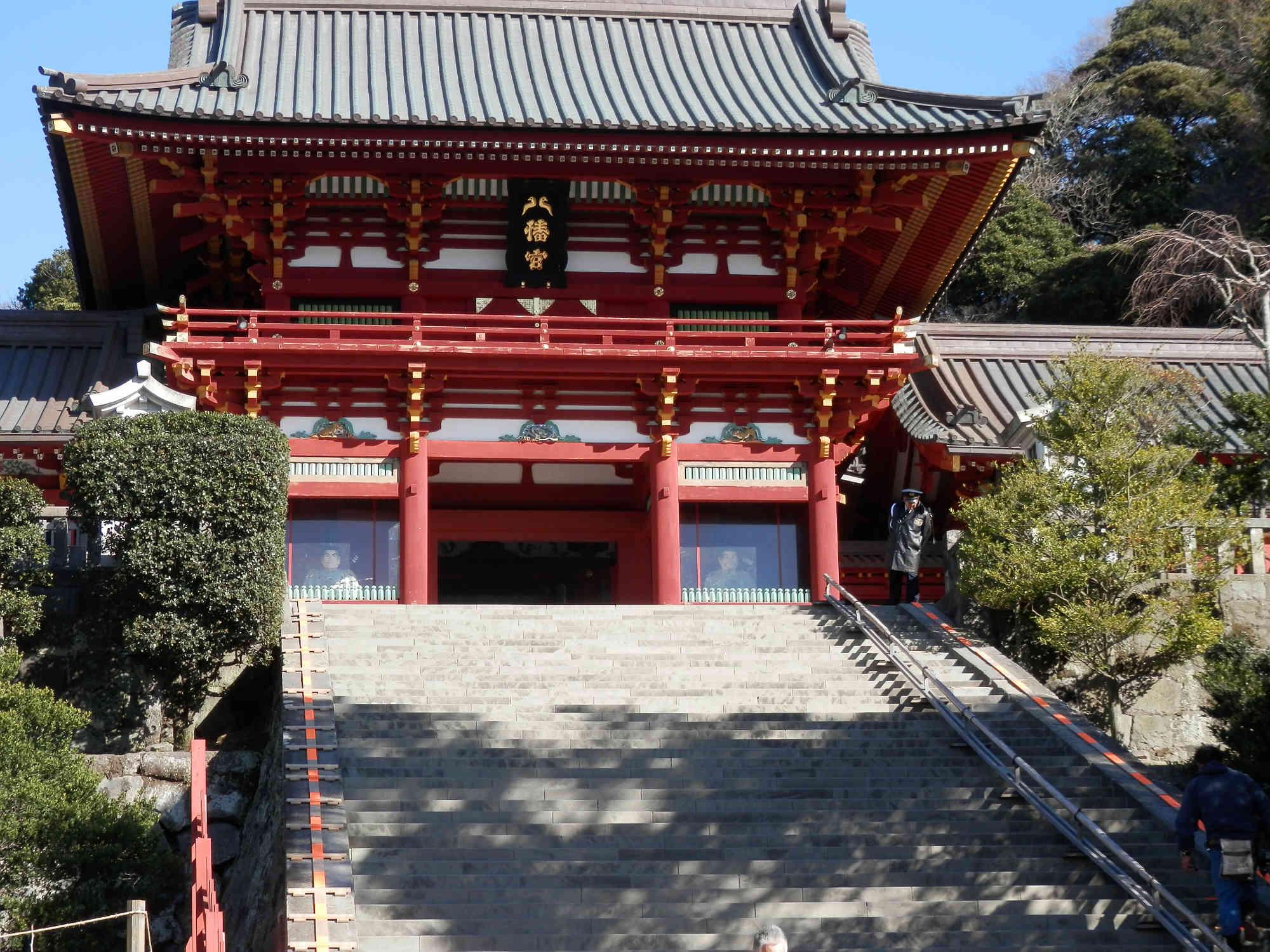 鎌倉「鶴岡八幡宮」本殿