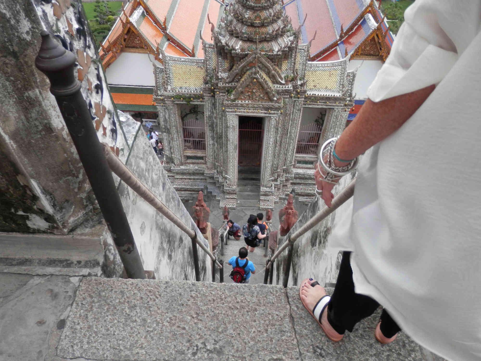 塔の上からの風景