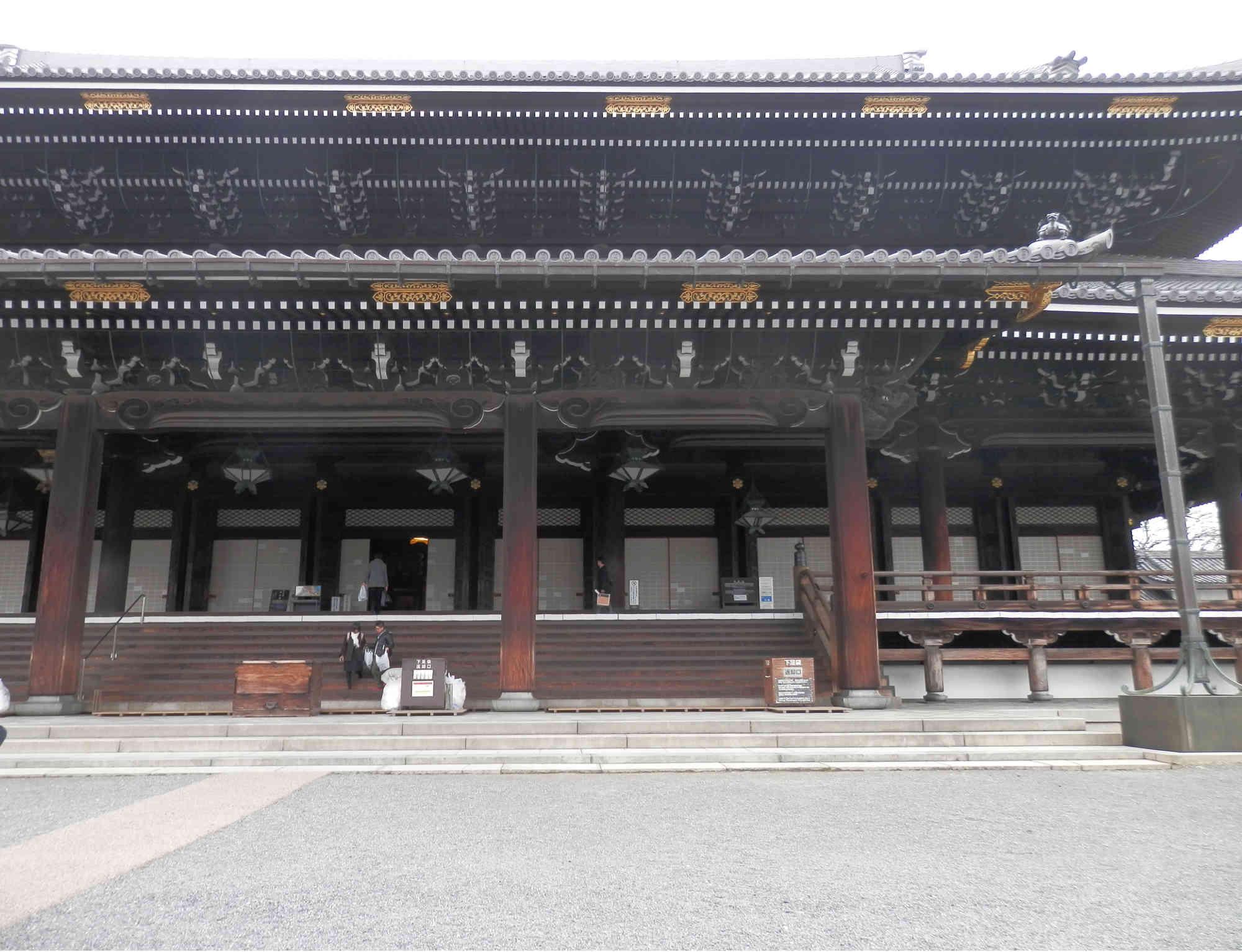 東本願寺 正面