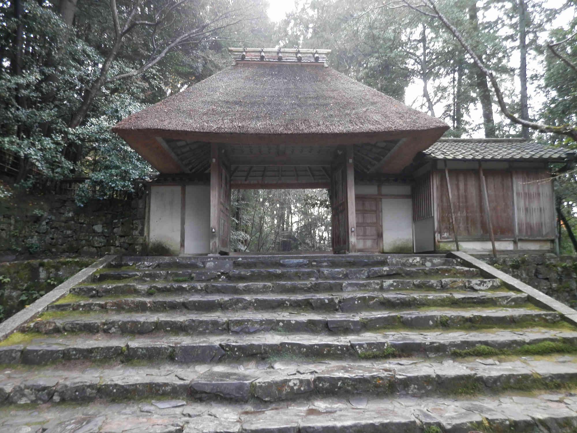 法然院の階段