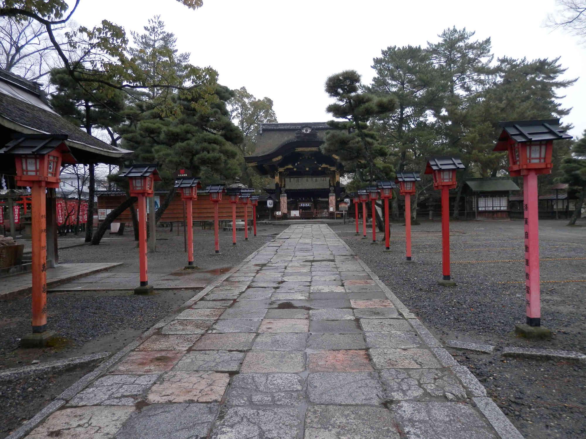 豊国神社 参道