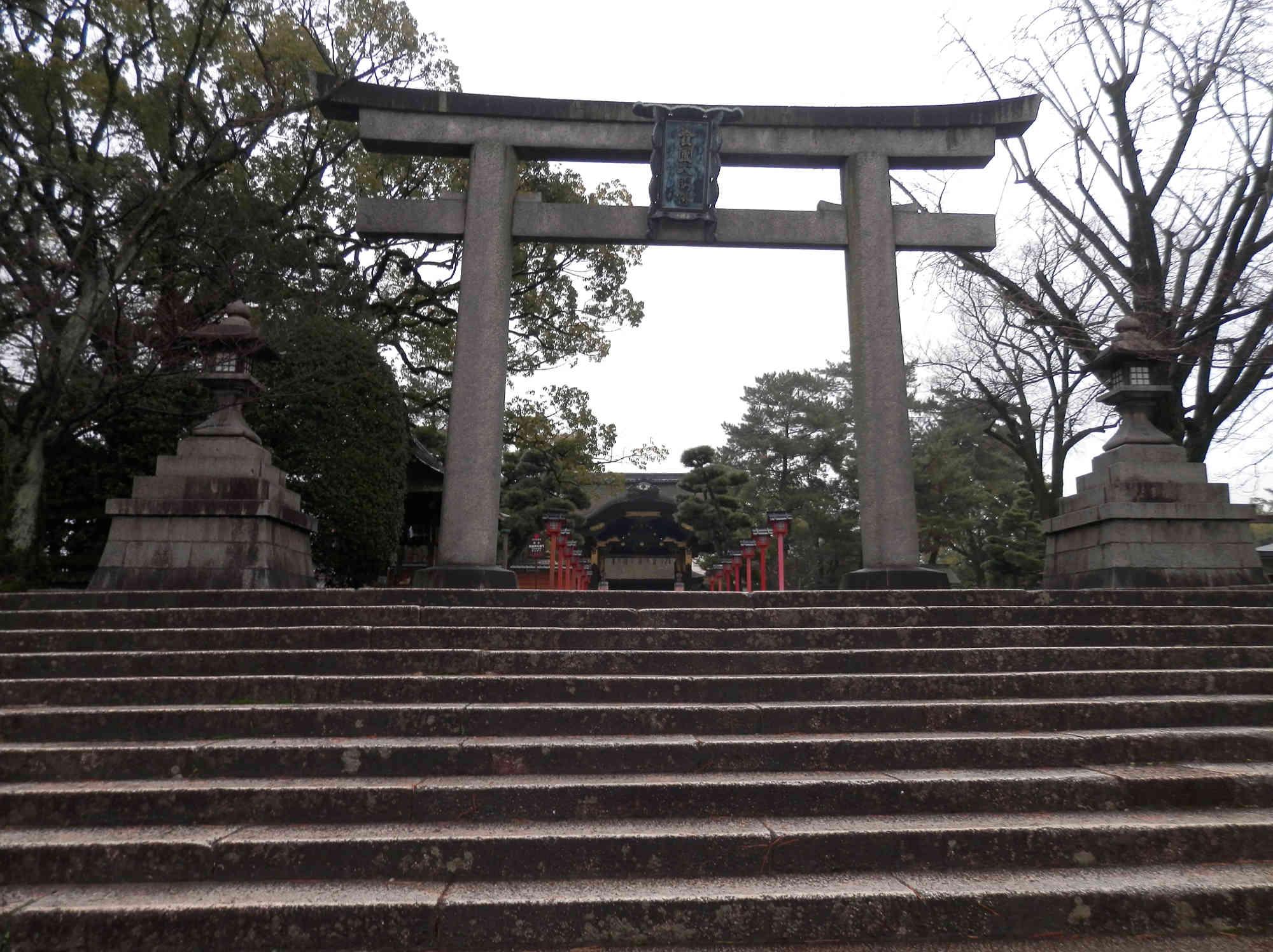 豊国神社(豊國神社 )の鳥居