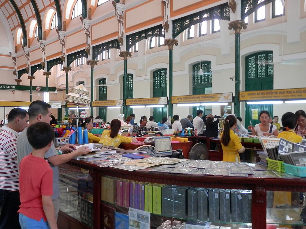 ホーチミン サイゴン中央郵便局の中