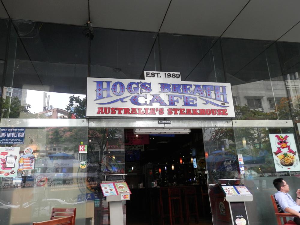 ホーチミン ホグス オーストラリアズ ステーキハウス