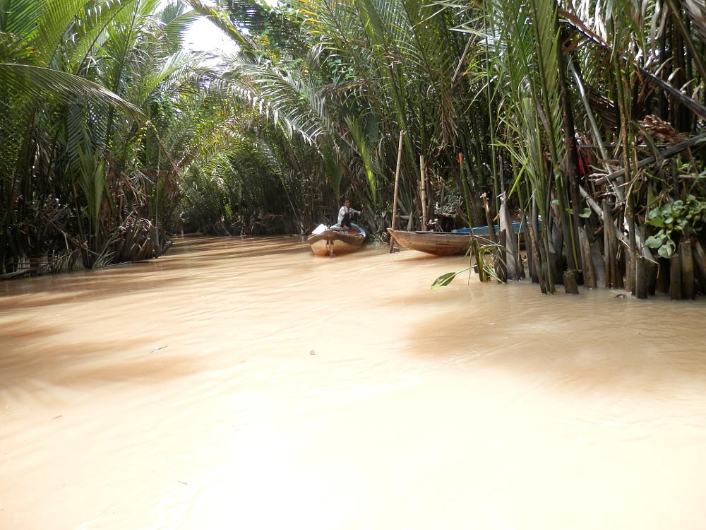 ベトナムメコン川クルーズ川下り