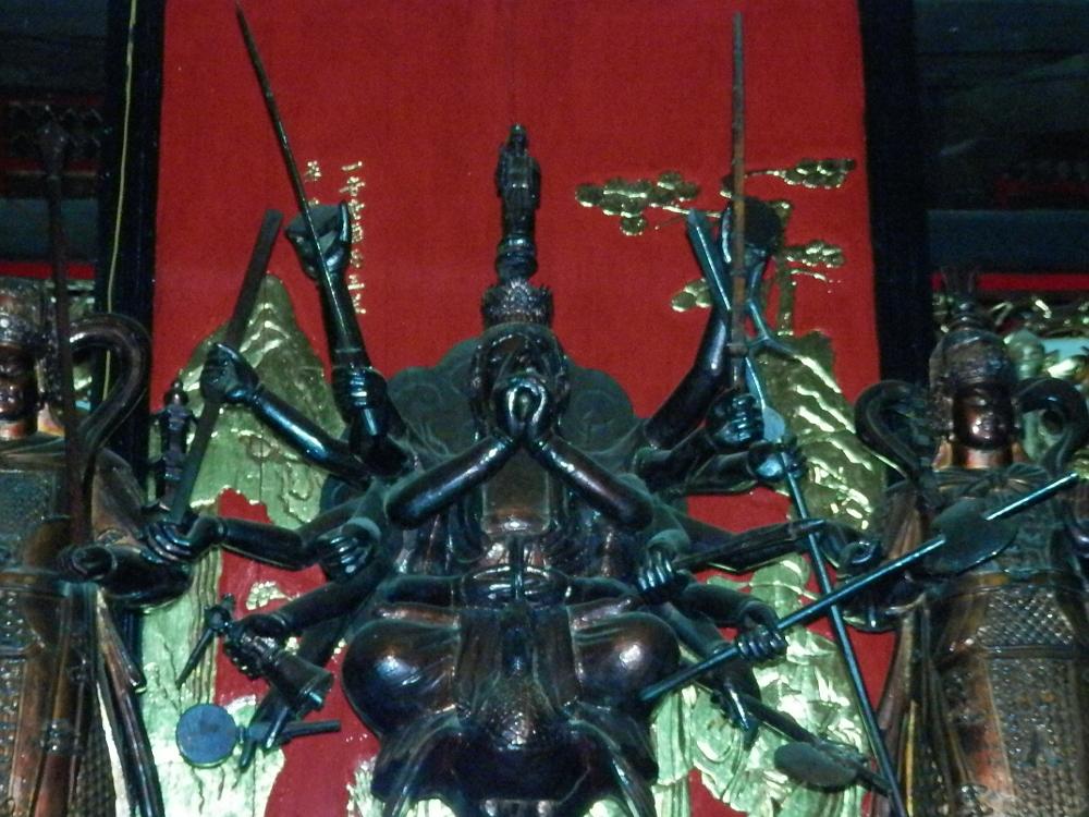 ホーチミン 覚園寺(ヤックヴィエン寺)