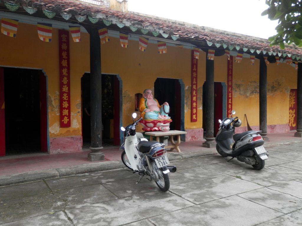 ホーチミン 覚園寺(ヤックヴィエン寺)入り口