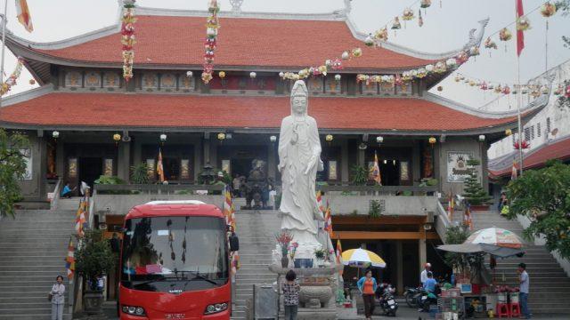 ホーチミン 永厳寺(ヴィンギエム寺)