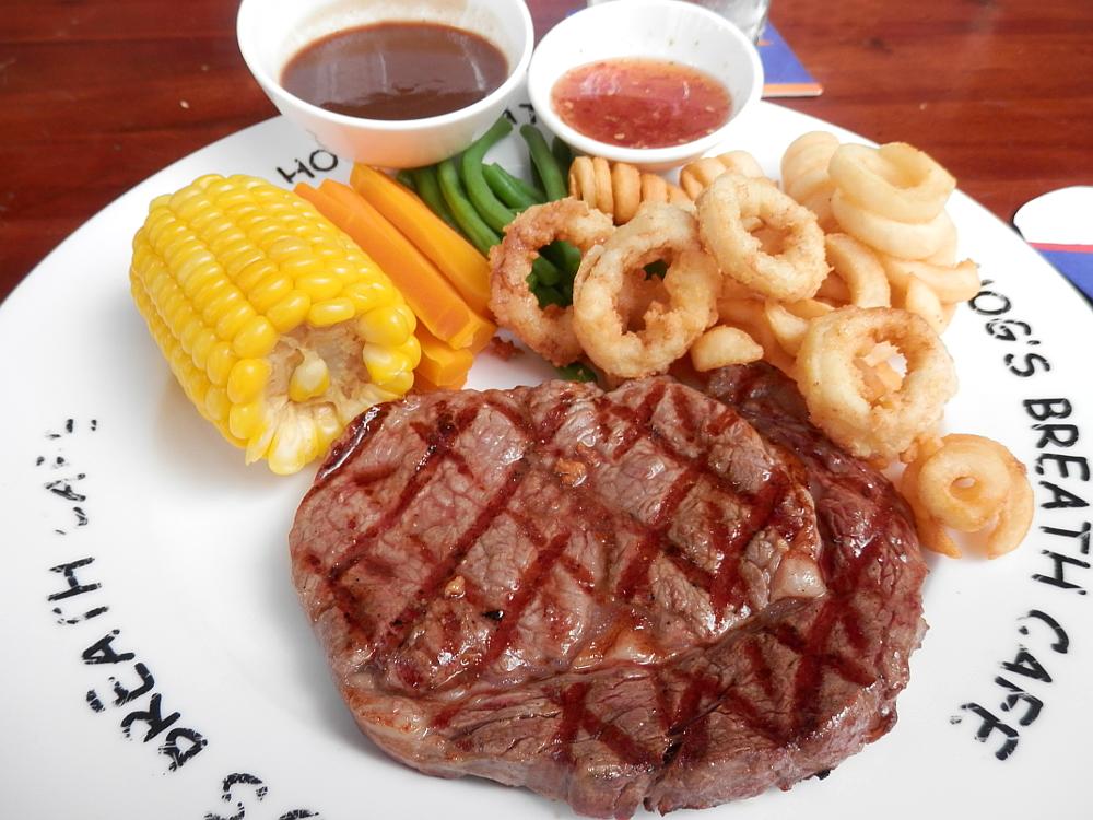ホグス オーストラリアズ ステーキハウスのステーキ