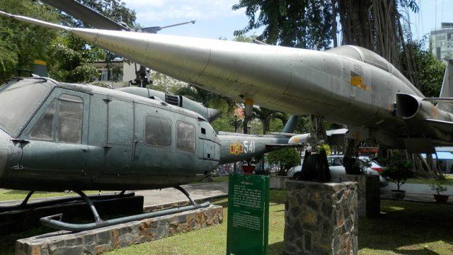 ホーチミン市博物館 戦闘機03