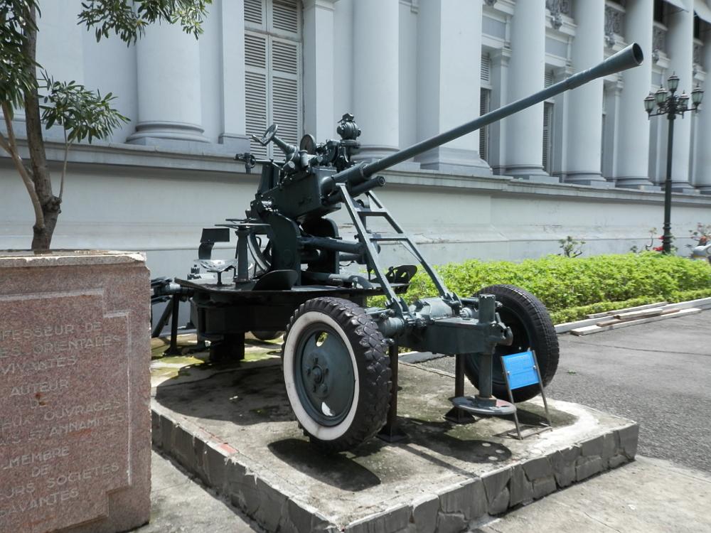 ホーチミン市博物館 兵器