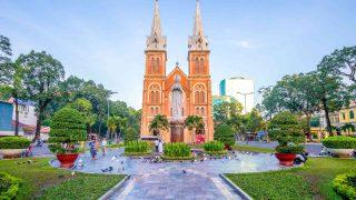 ベトナム サイゴン大教会