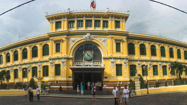 サイゴン中央郵便局のメイン