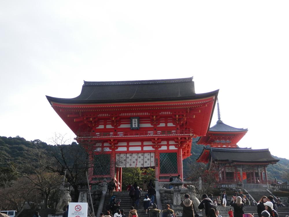 京都清水寺の仁王門