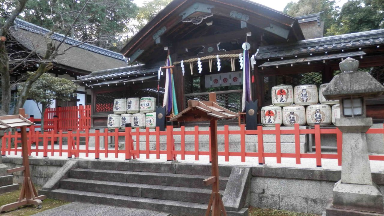 建勲神社 神門(祝詞舎)