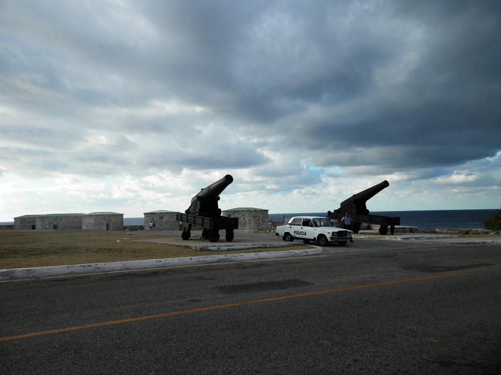 2台の大砲