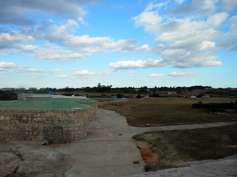 モロ要塞の周辺