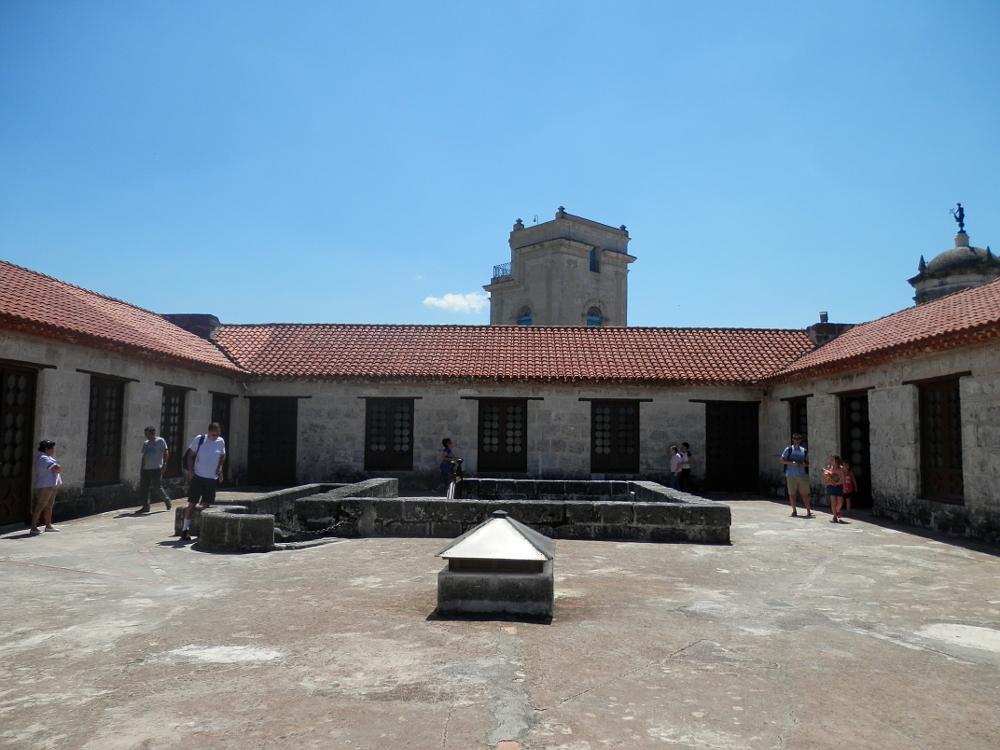 ハバナ フエルサ要塞 2階