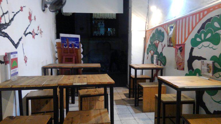 ハバナ旧市街地の日本食堂