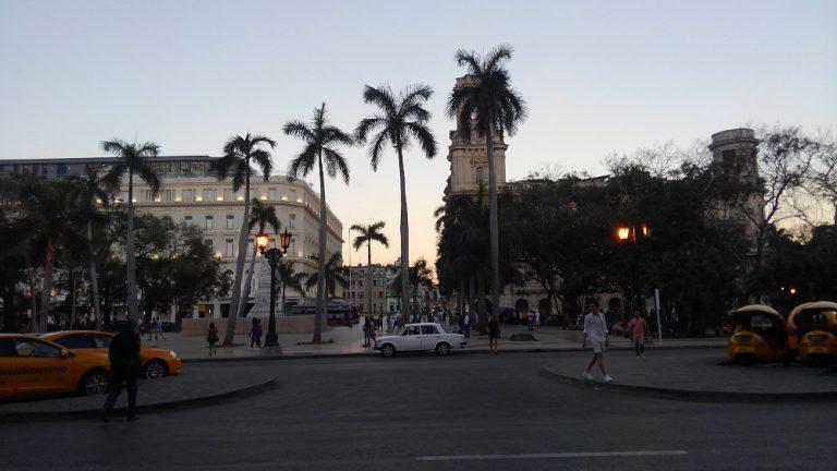 ハバナ旧市街地のセントラル公園