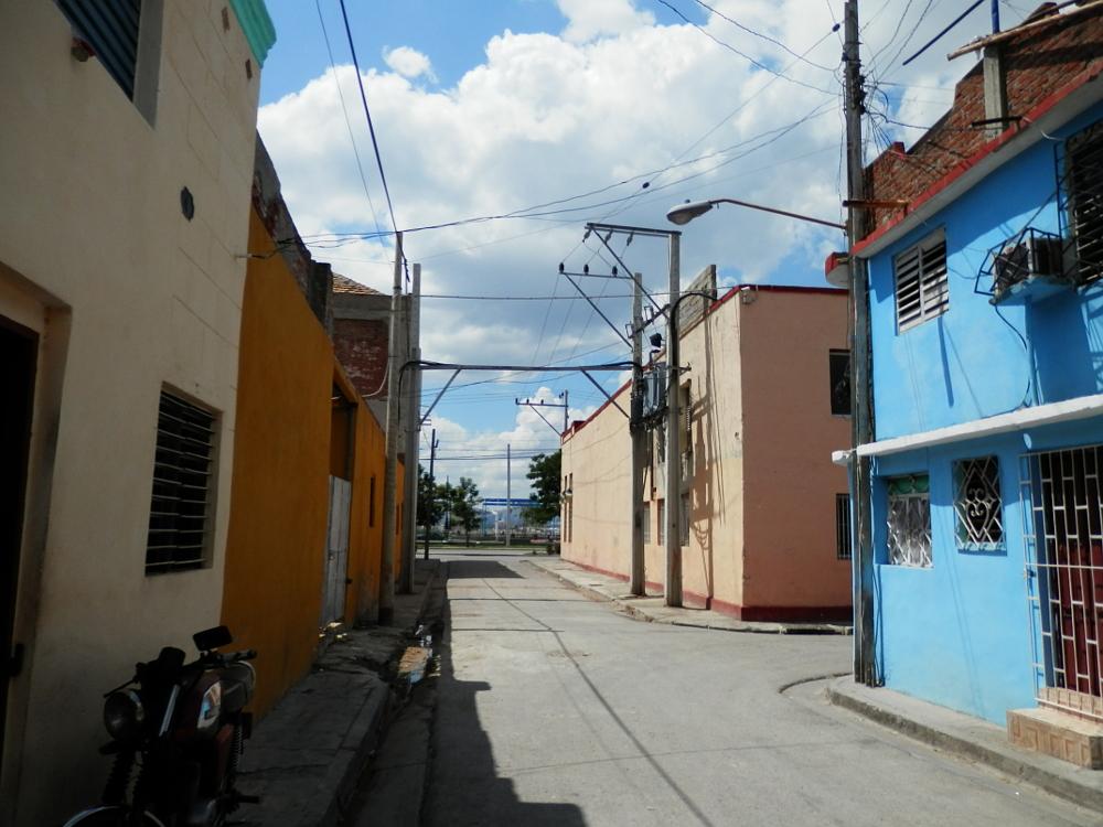 サンティアゴ・デ・クーバの街並み