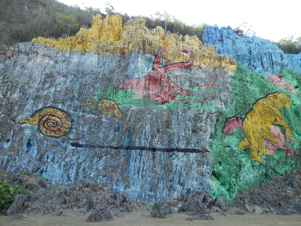 キューバ プレイストリアの壁画