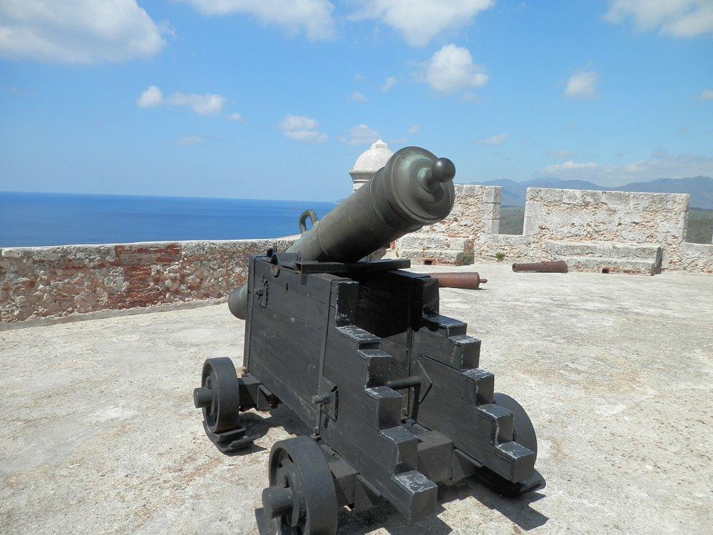 モロ要塞 大砲