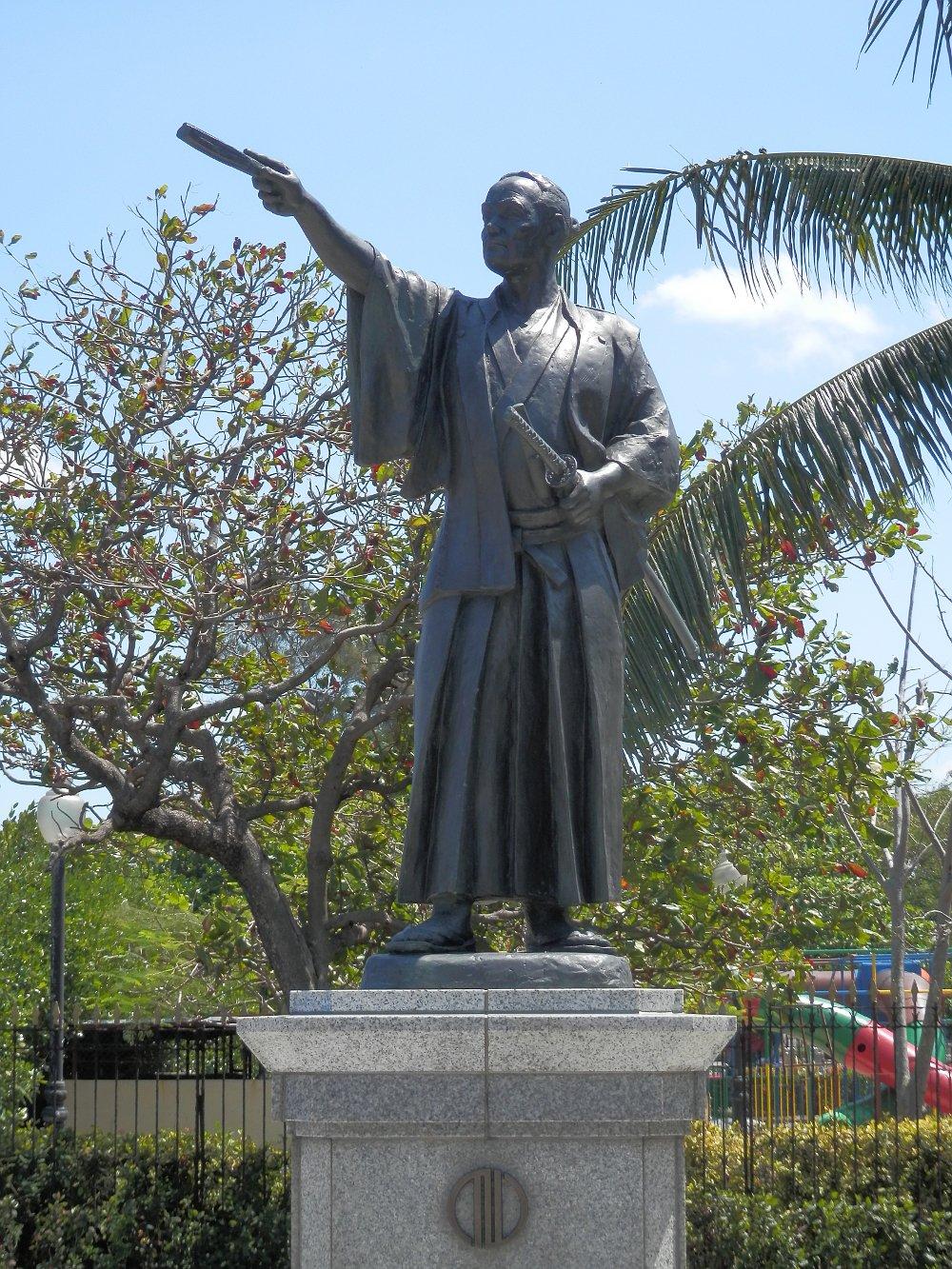ハバナ 支倉常長の像