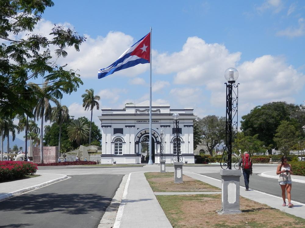 キューバ サンタ・イフィヘニア墓地