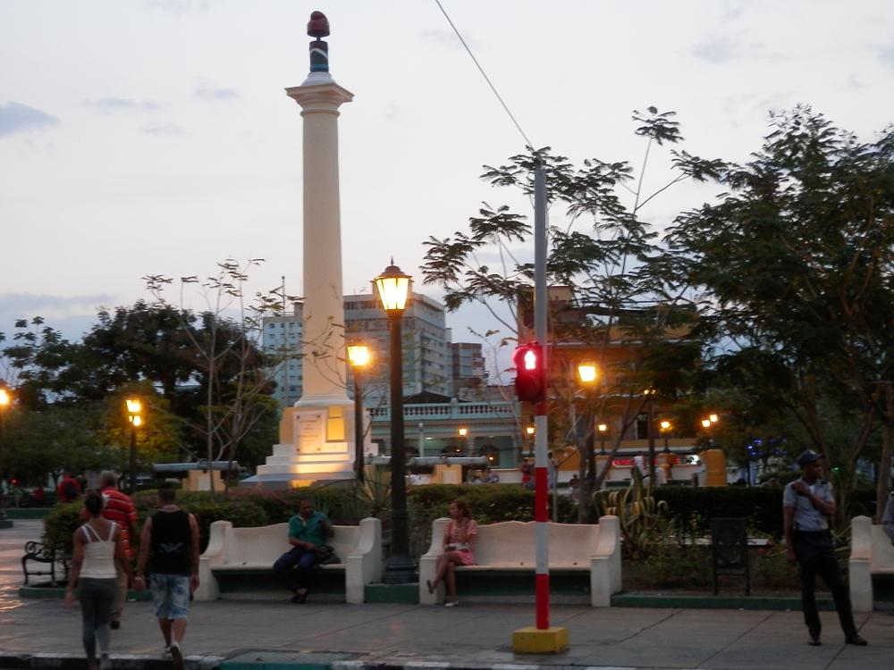 キューバ マルテ広場