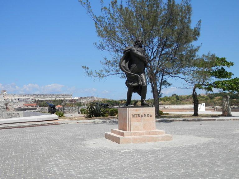 キューバハバナのプンタ要塞の像