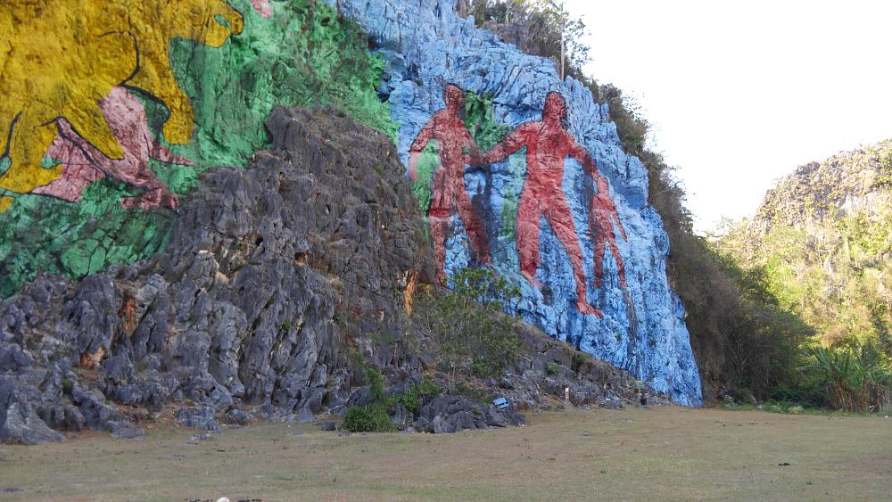 ビニャーレス プレイストリアの壁画