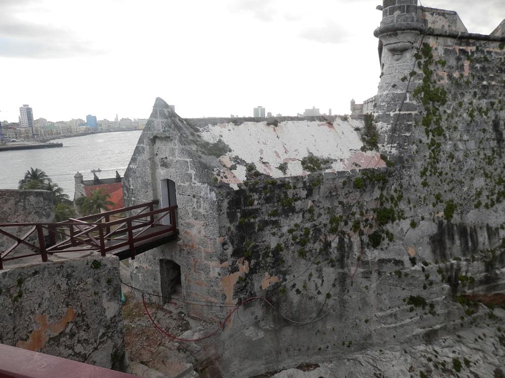 モロ要塞の外観