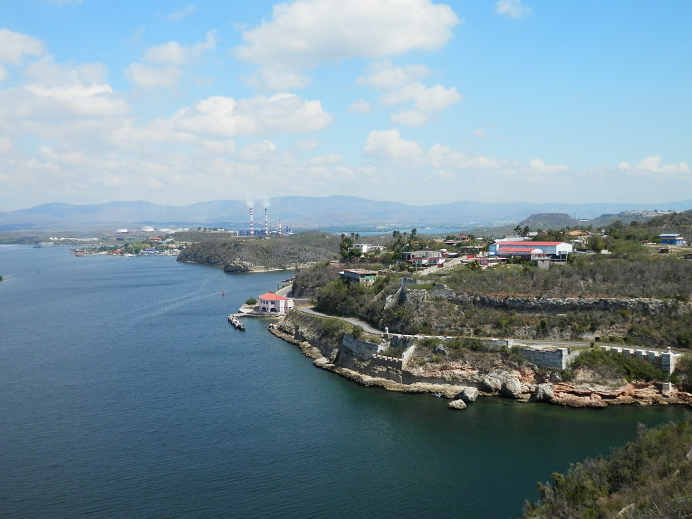 サンティアゴ・デ・クーバ モロ要塞からの絶景