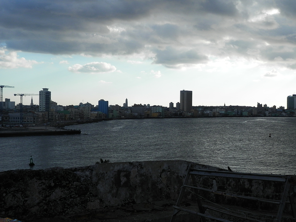 モロ要塞から見た旧市街地