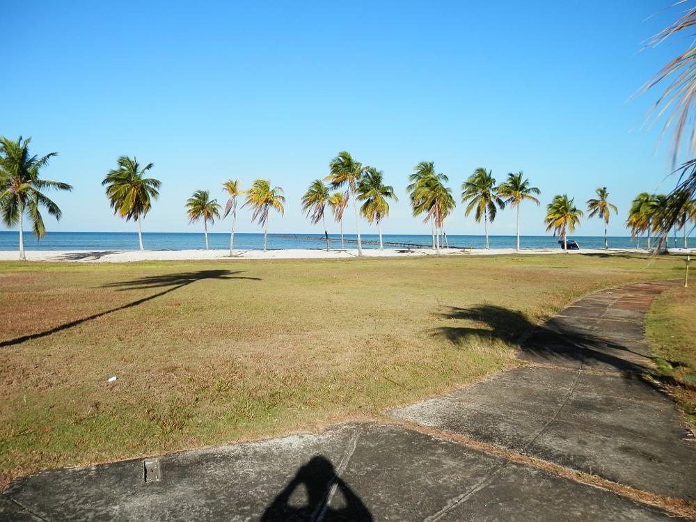 フベントゥド島 ホテルのビーチ