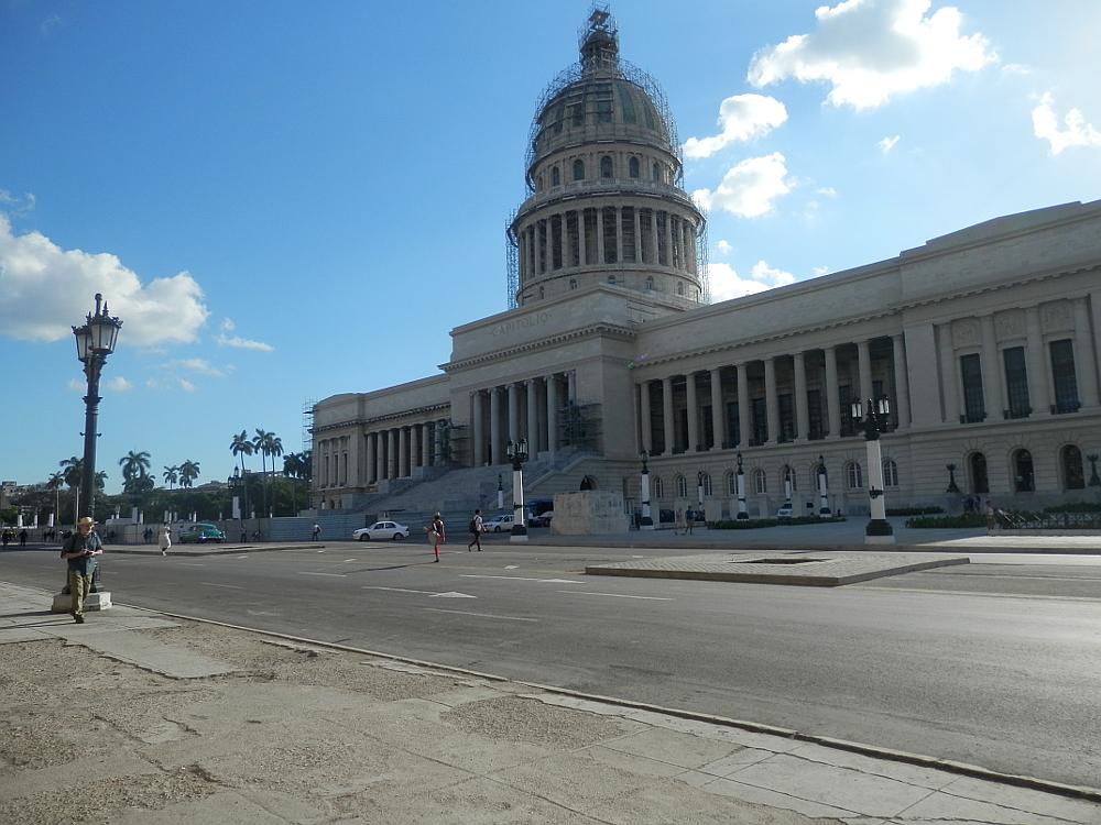 キューバ 旧国会議事堂(カピトリオ)