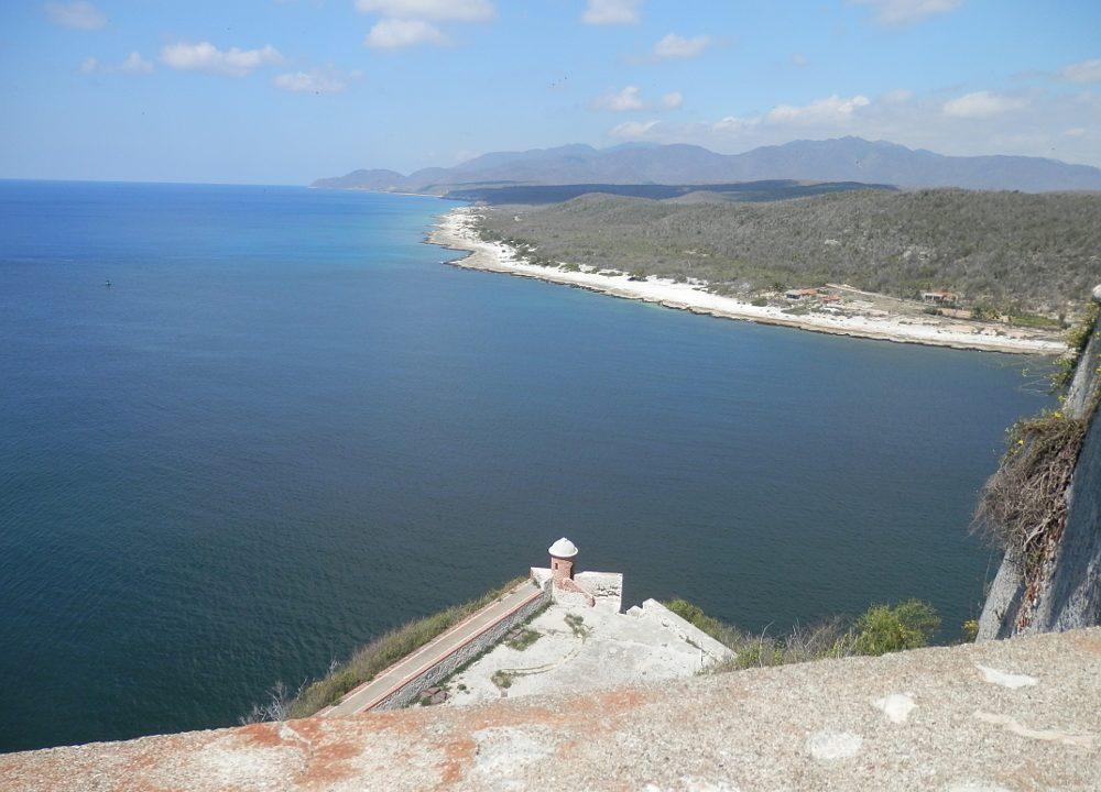 サンティアーゴ・デ・クーバ モロ要塞からの風景
