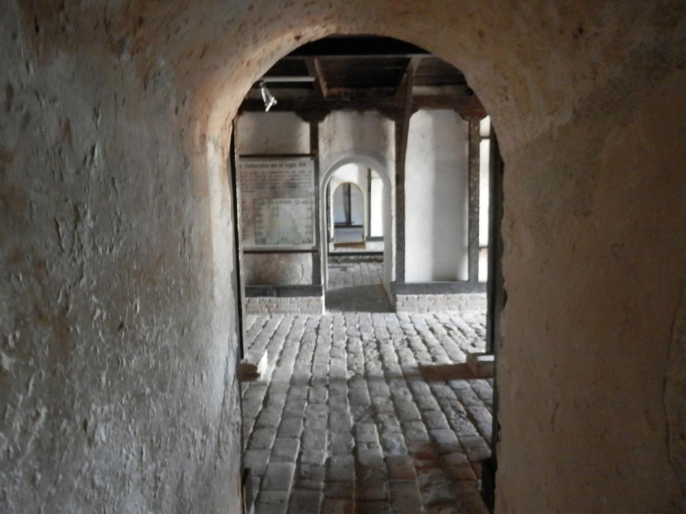 モロ要塞の展示