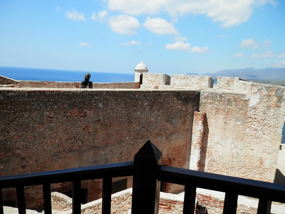 モロ要塞の中