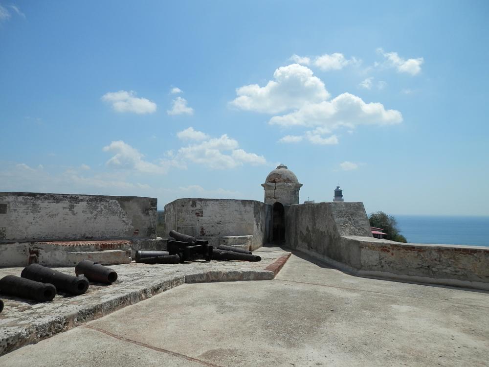 サンティアゴ モロ要塞の見張り台