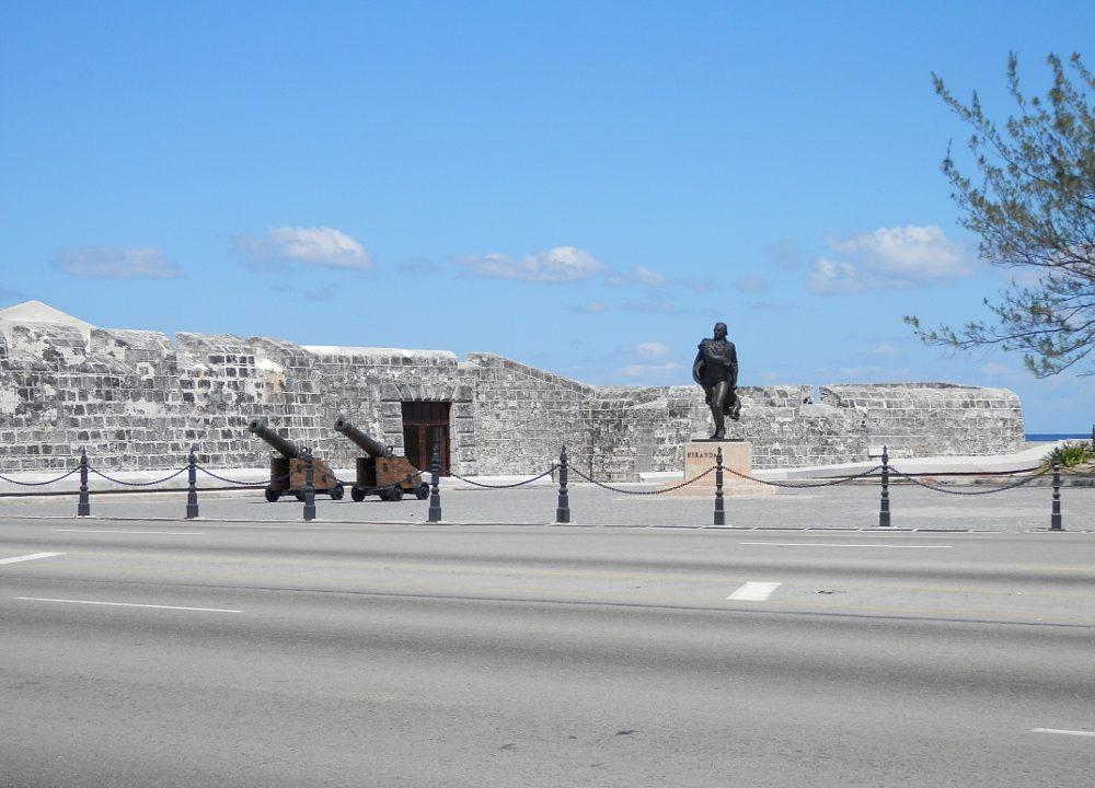 キューバハバナのプンタ要塞