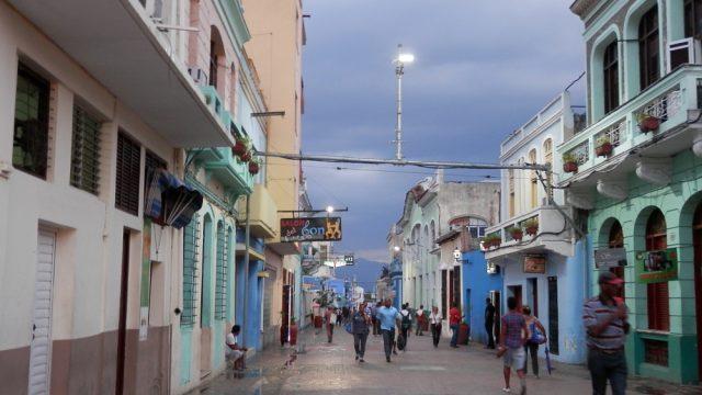 サンティアーゴ・デ・クーバ メイン通り05
