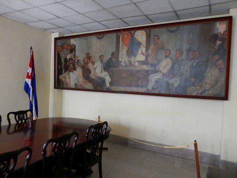キューバハバナ 革命博物館の絵画
